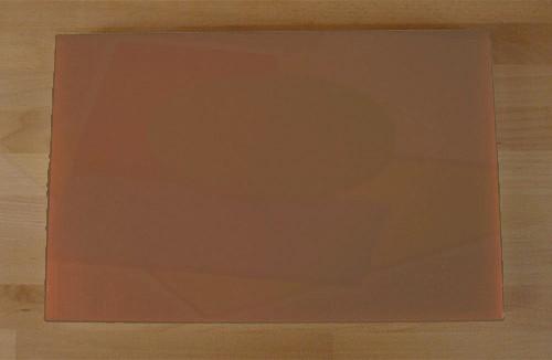 Planche in polyéthylène rectangulaire marron 40X60 cm  - épaisseur 10 mm