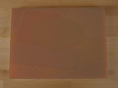 Planche in polyéthylène rectangulaire marron 30X40 cm  - épaisseur 10 mm