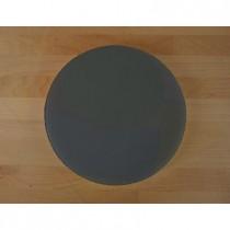 Planche in polyéthylène rond noire avec effet ardoise diamètre 30 cm  - épaisseur 25 mm