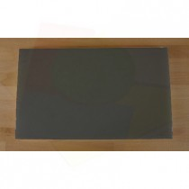 Planche in polyéthylène rectangulaire noire avec effet ardoise 30X50 cm  - épaisseur 10 mm