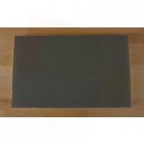 Planche in polyéthylène rectangulaire noire avec effet ardoise 50X80 cm  - épaisseur 60 mm