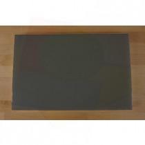 Planche in polyéthylène rectangulaire noire avec effet ardoise 40X60 cm  - épaisseur 10 mm