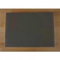 Planche in polyéthylène rectangulaire noire avec effet ardoise 50X70 cm  - épaisseur 25 mm
