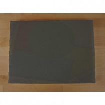 Planche in polyéthylène rectangulaire noire avec effet ardoise 30X40 cm  - épaisseur 15 mm