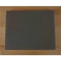 Planche in polyéthylène rectangulaire noire avec effet ardoise 40X50 cm  - épaisseur 25 mm