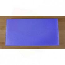 Planche in polyéthylène rectangulaire bleue 40X80 cm  - épaisseur 10 mm