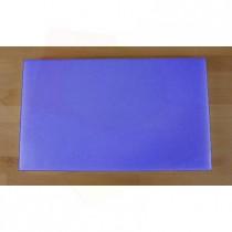 Planche in polyéthylène rectangulaire bleue 30X50 cm  - épaisseur 10 mm