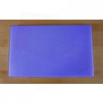 Planche in polyéthylène rectangulaire bleue 50X80 cm  - épaisseur 60 mm