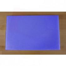Planche in polyéthylène rectangulaire bleue 40X60 cm  - épaisseur 25 mm