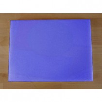Planche in polyéthylène rectangulaire bleue 30X40 cm  - épaisseur 80 mm
