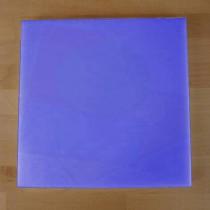 Planche in polyéthylène carré bleue 40X40 cm  - épaisseur 10 mm