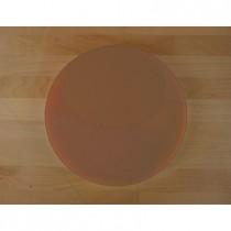 Planche in polyéthylène rond marron diamètre 30 cm  - épaisseur 80 mm