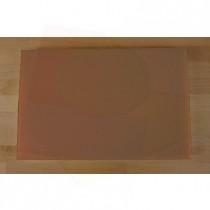 Planche in polyéthylène rectangulaire marron 40X60 cm  - épaisseur 80 mm