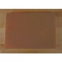 Planche in polyéthylène rectangulaire marron 50X70 cm  - épaisseur 60 mm