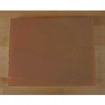 Planche in polyéthylène rectangulaire marron 40X50 cm  - épaisseur 10 mm