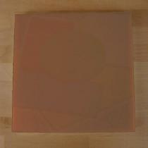 Planche in polyéthylène carré marron 40X40 cm  - épaisseur 10 mm