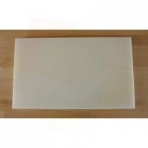 Planche in polyéthylène rectangulaire blanche 30X50 cm  - épaisseur 10 mm