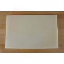 Planche in polyéthylène rectangulaire blanche 40X60 cm  - épaisseur 10 mm