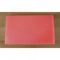 Planche in polyéthylène rectangulaire rouge 30X50 cm  - épaisseur 10 mm