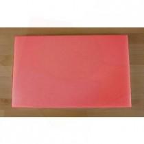 Planche in polyéthylène rectangulaire rouge 50X80 cm  - épaisseur 60 mm