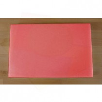 Planche in polyéthylène rectangulaire rouge 40X60 cm  - épaisseur 100 mm