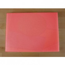 Planche in polyéthylène rectangulaire rouge 30X40 cm  - épaisseur 80 mm