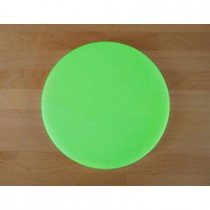 Planche in polyéthylène rond verte diamètre 30 cm  - épaisseur 25 mm