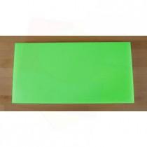 Planche in polyéthylène rectangulaire verte 40X80 cm  - épaisseur 10 mm