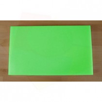 Planche in polyéthylène rectangulaire verte 30X50 cm  - épaisseur 10 mm