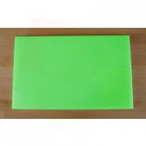 Planche in polyéthylène rectangulaire verte 50X80 cm  - épaisseur 10 mm