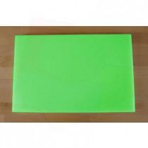 Planche in polyéthylène rectangulaire verte 40X60 cm  - épaisseur 10 mm