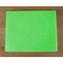 Planche in polyéthylène rectangulaire verte 40X50 cm  - épaisseur 10 mm