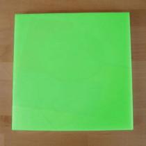 Planche in polyéthylène carré verte 40X40 cm  - épaisseur 10 mm