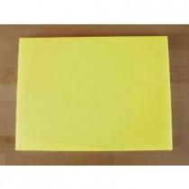 Planche in polyéthylène rectangulaire jaune 30X40 cm  - épaisseur 10 mm